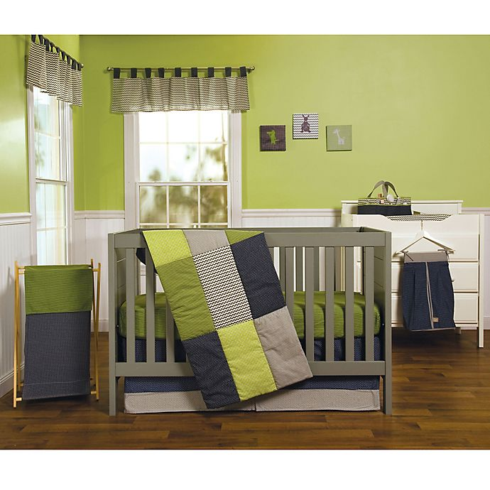 Alternate image 1 for Trend Lab® Perfectly Preppy 3-Piece Crib Bedding Set
