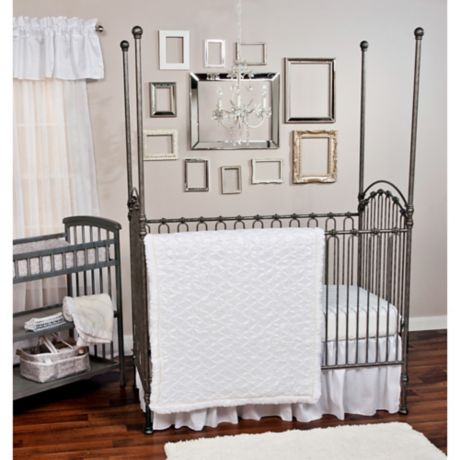 Trend Lab 174 Marshmallow Bedding Collection Buybuy Baby
