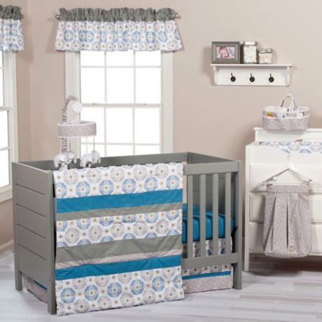 Trend Lab 174 Monaco Crib Bedding Collection Buybuy Baby