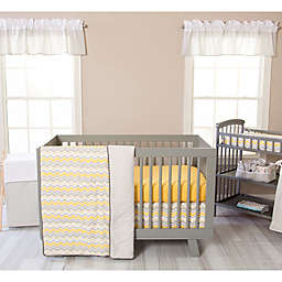 Trend Lab® Buttercup Zigzag 3-Piece Crib Bedding Set