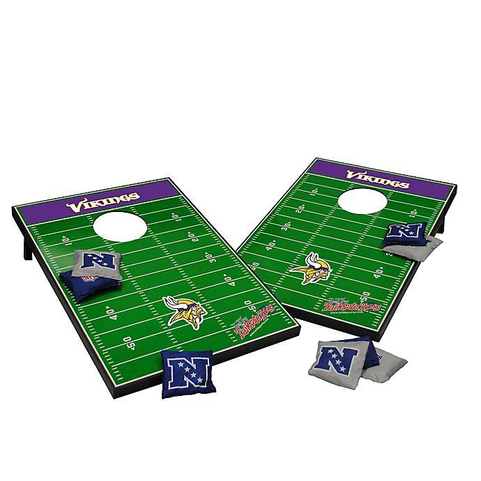 Alternate image 1 for NFL Minnesota Vikings Tailgate Toss Cornhole Set