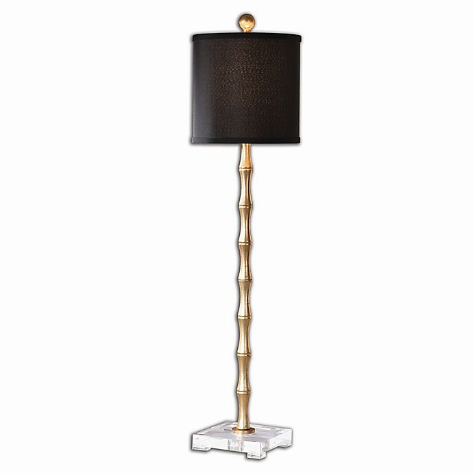 Alternate image 1 for Uttermost Quindici Metal Buffet Lamp