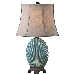 Uttermost Seashell Ceramic Table Lamp
