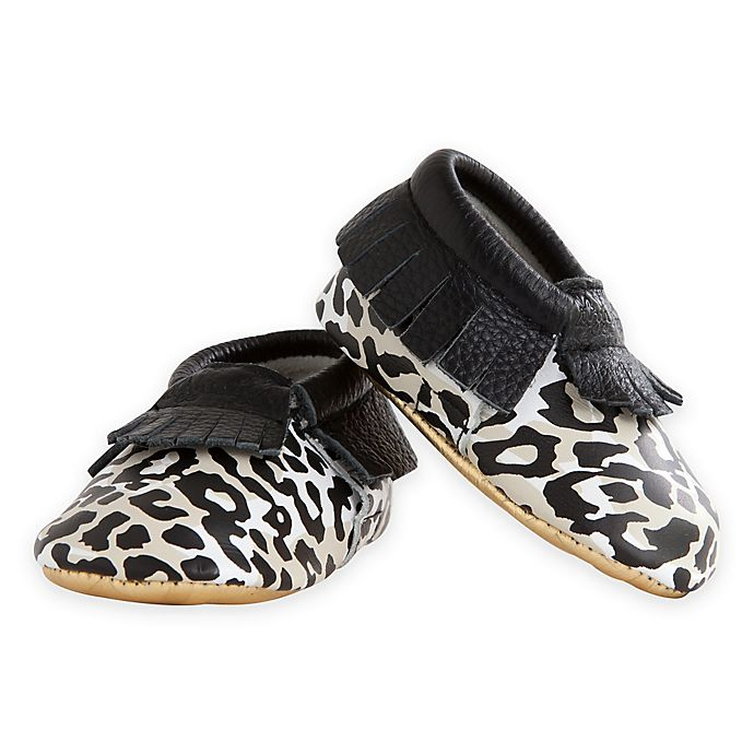 Alternate image 1 for Itzy Ritzy® Moc Happens™ Leather Baby Moccasins