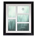 Prinz® Baldwin 5-Photo 4-Inch x 6-Inch Wood Picture Frame in Black