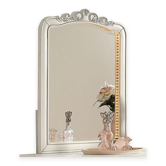 Alternate image 1 for Hillsdale Kids and Teen Kensington Lighted Vanity Dresser Mirror in Antique Silver