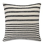 Kenneth Cole Mineral 18-Inch Square Throw Pillow in Grey Stripe