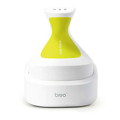 Breo® iScalp Scalp and Body Massager in White/Green