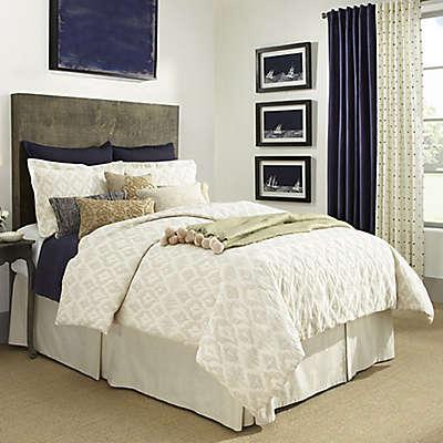 Aura Annapolis Linen Duvet Cover in Ecru