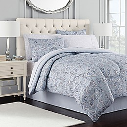 Royal Ascot Comforter Set in Blue