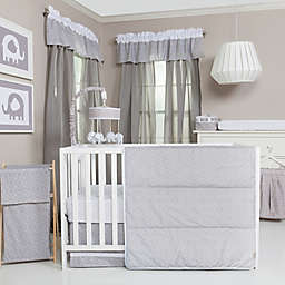 Trend Lab® Grey and White Circles 3-Piece Crib Bedding Set