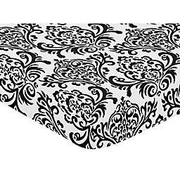 Sweet Jojo Designs Isabella Crib Sheet in Damask