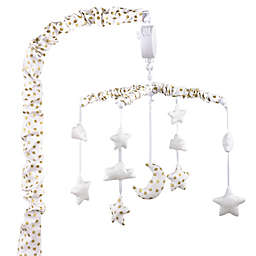 The Peanut Shell™ Stars Musical Mobile in Gold