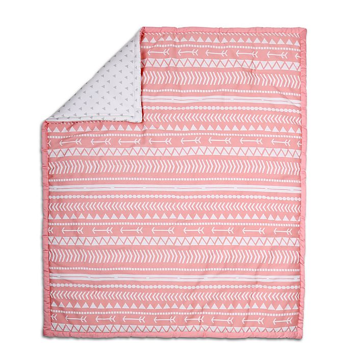 Alternate image 1 for The Peanut Shell® Tribal Quilt in Coral