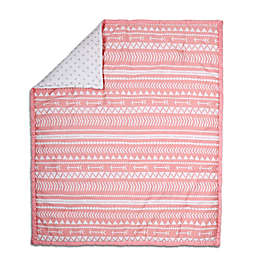 The Peanut Shell® Tribal Quilt in Coral