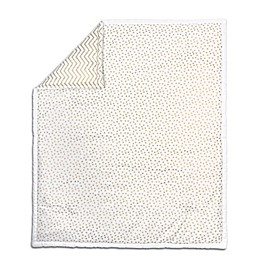 The Peanut Shell® Confetti Quilt in Gold