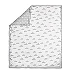 The Peanut Shell® Cloud Quilt in Grey