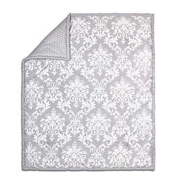 The Peanut Shell® Damask Quilt in Grey
