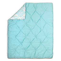 The Peanut Shell® Pintucked Quilt in Teal