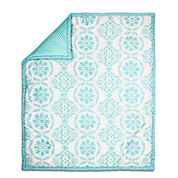 The Peanut Shell® Medallion Quilt in Teal