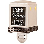 AmbiEscents Faith, Hope, Love Fragranced Wax Warmer