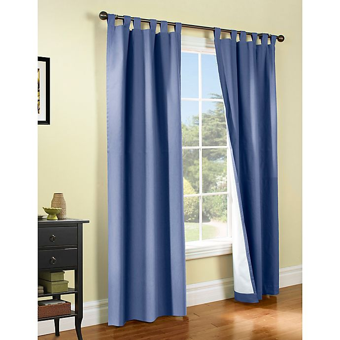 Alternate image 1 for Thermalogic® Weathermate Tab Top Window Curtain Panel Pair