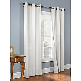 Weathermate Grommet Top Window Curtain Panel Pair
