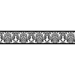 Sweet Jojo Designs Isabella Wallpaper Border in Black/White