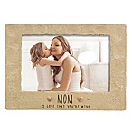 Grasslands Road® 4-Inch x 6-Inch  Mom  Cement Picture Frame