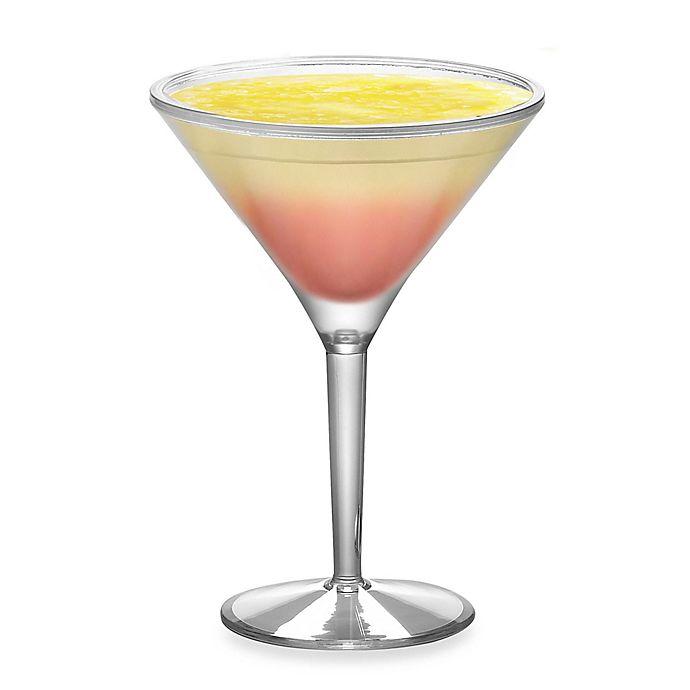 Alternate image 1 for Prodyne Acrylic 10-Ounce Iced Martini™ Glasses (Set of 2)