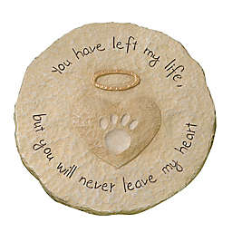 Grasslands Road® Paw Print Pet Memorial Stone