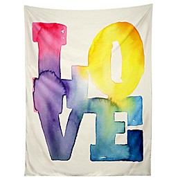 "Deny Designs Cmykaren ""Love"" 4 Tapestry"