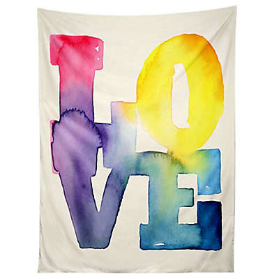 "Deny Designs Cmykaren ""Love"" 4 Tapestry"