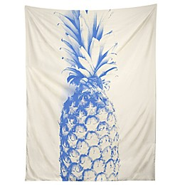 Deny Designs Deb Haugen Blu Pineapple Tapestry