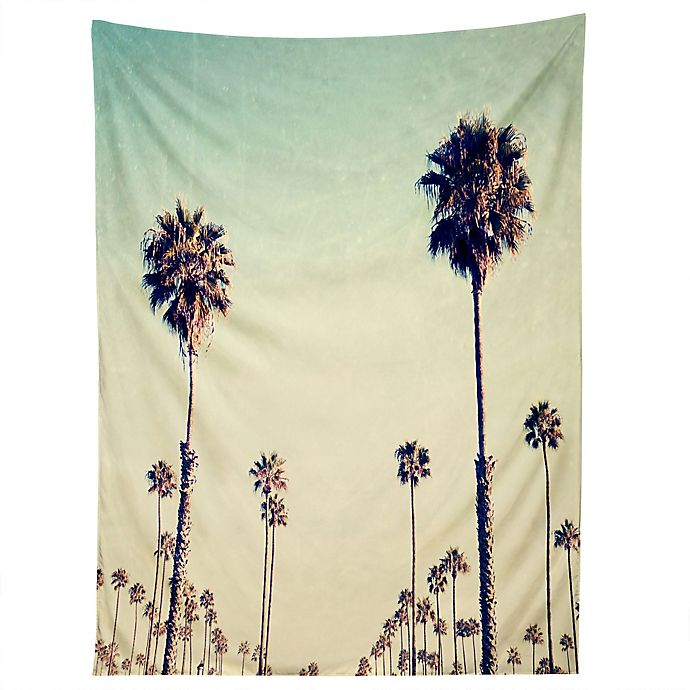 Alternate image 1 for Deny Designs Bree Madden California Palm Trees Tapestry