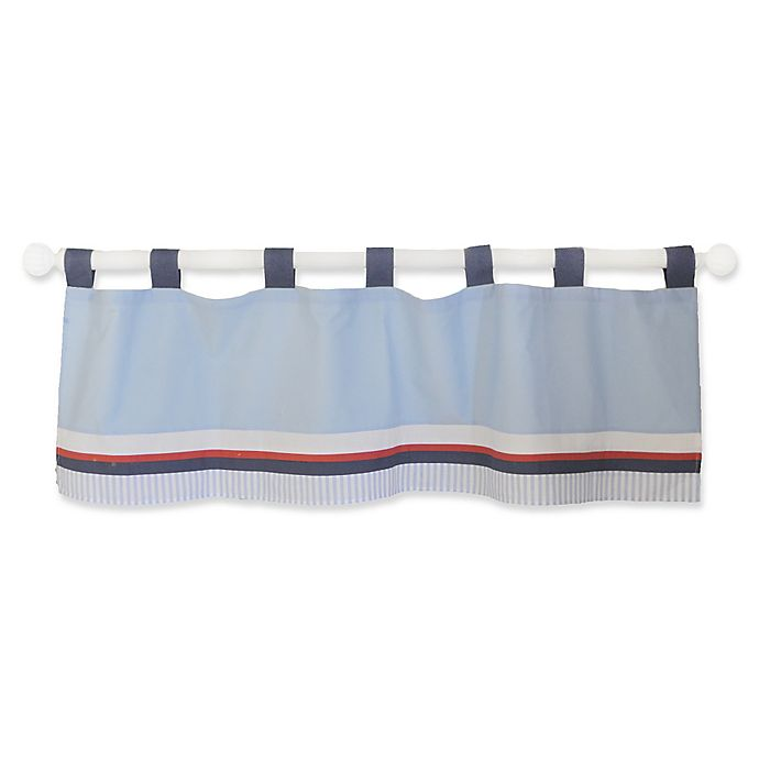 Alternate image 1 for My Baby Sam First Mate Window Valance