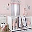 Part of the The Peanutshell™  Floral Crib Bedding Collection in Coral
