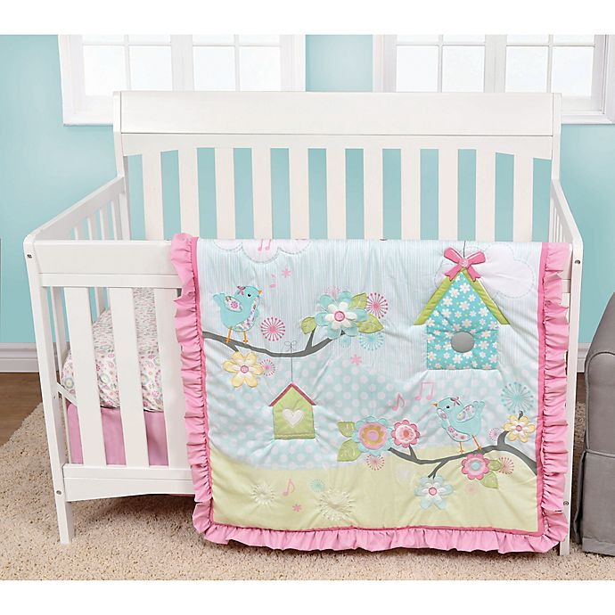Baby S First By Nemcor Garden Song Crib Bedding Collection