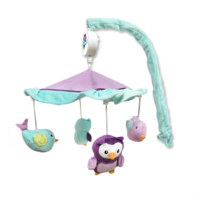 Baby S First By Nemcor Love Birds Musical Mobile Bed