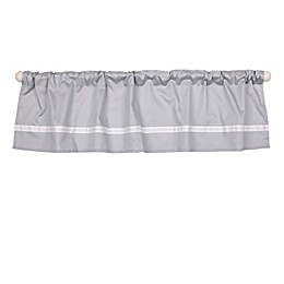 The Peanutshell™  Solid Window Valance in Grey