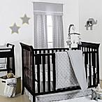 The Peanut Shell® Geometric 4-Piece Crib Bedding Set in Grey