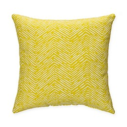 Glenna Jean Lil Hoot Chevron Throw Pillow in Green