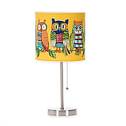 Glenna Jean Lil Hoot Mod Lamp Base with Shade