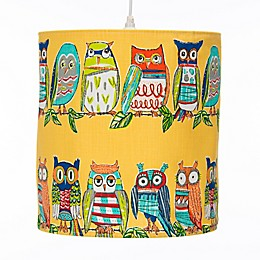 Glenna Jean Lil Hoot Owl Hanging Drum Lamp Shade Kit