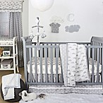 The Peanut Shell® Clouds 4-Piece Crib Bedding Set in Grey