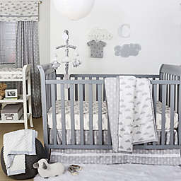 The Peanutshell™  Crib Bedding Collection in Grey/White
