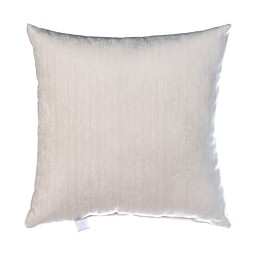 Glenna Jean Soho Velvet Throw Pillow in White