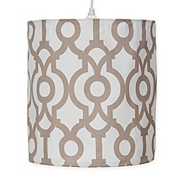 Glenna Jean Soho Fretwork Print Hanging Drum Shade Kit