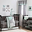 Part of the The Peanutshell™  Woodland Crib Bedding Collection in Grey/Mint
