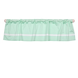 The Peanut Shell™ Solid Window Valance in Mint